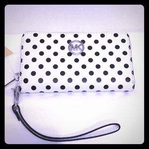 Michael Kors multi function phone case wallet bag